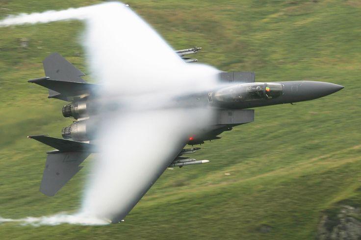 Boca Wings F-15 sonic boom
